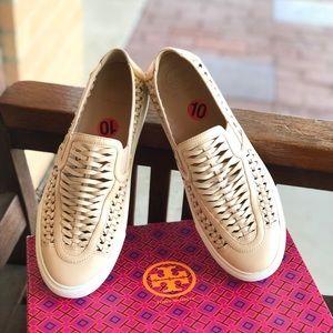 Tory Burch Huarache 2 slip on sneaker Leather sz10